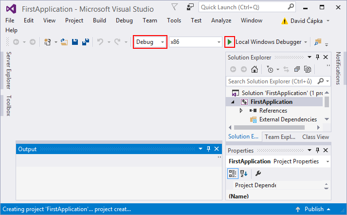 Lesson 2 - Visual Studio and your first C++ console application