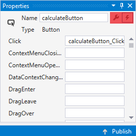 Lesson 5 - Code-Behind in C#  NET WPF and finishing the