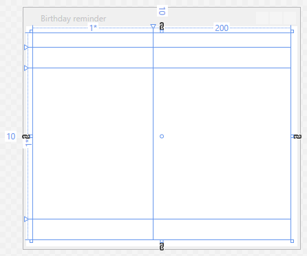 Lesson 6 - Birthday reminder in C#  NET WPF - Designing windows
