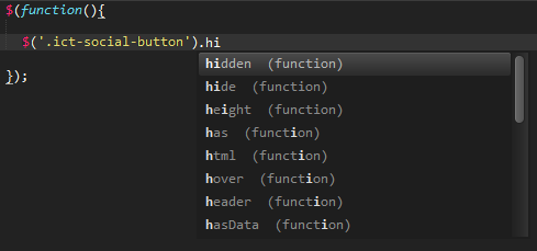 Sublime Text SublimeCodeIntel